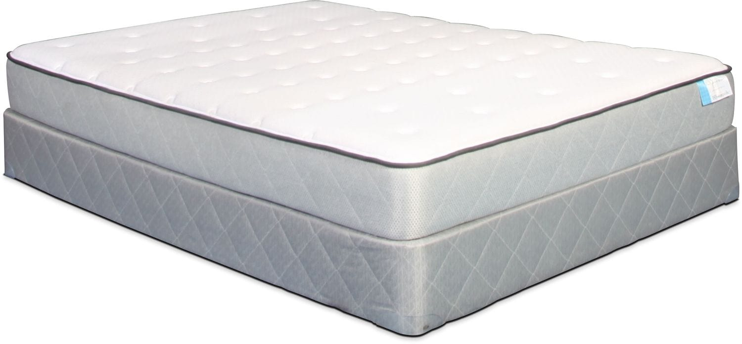 Sealy Pescadero Point Firm Full Mattress and Boxspring