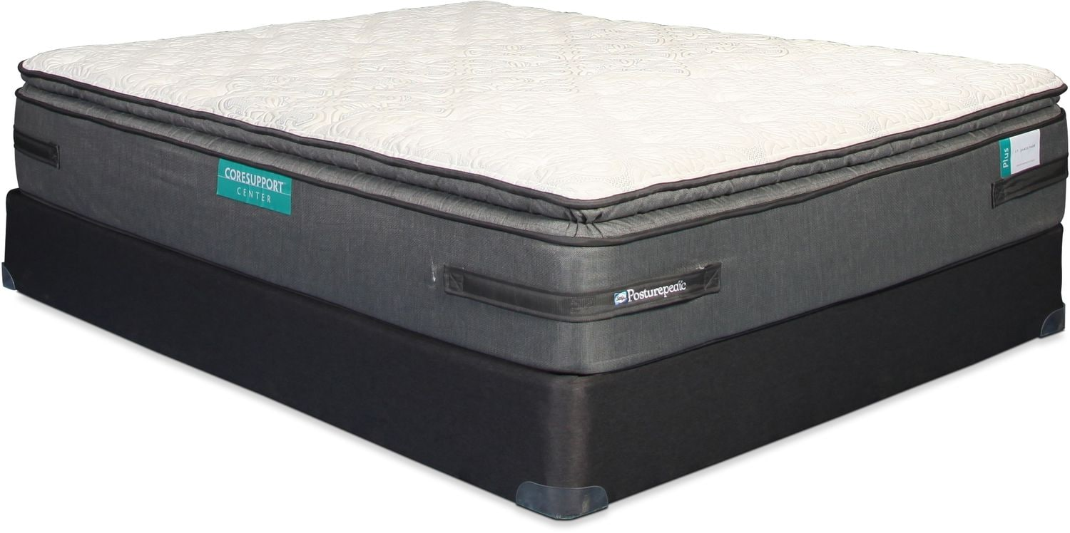Sealy St. James Park Pillow Top Queen Mattress and Boxspring