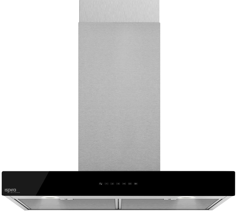 "Cooking Products - Venmar Ispira 36"" Chimney Range Hood – Black Panel IC700ES36BL"