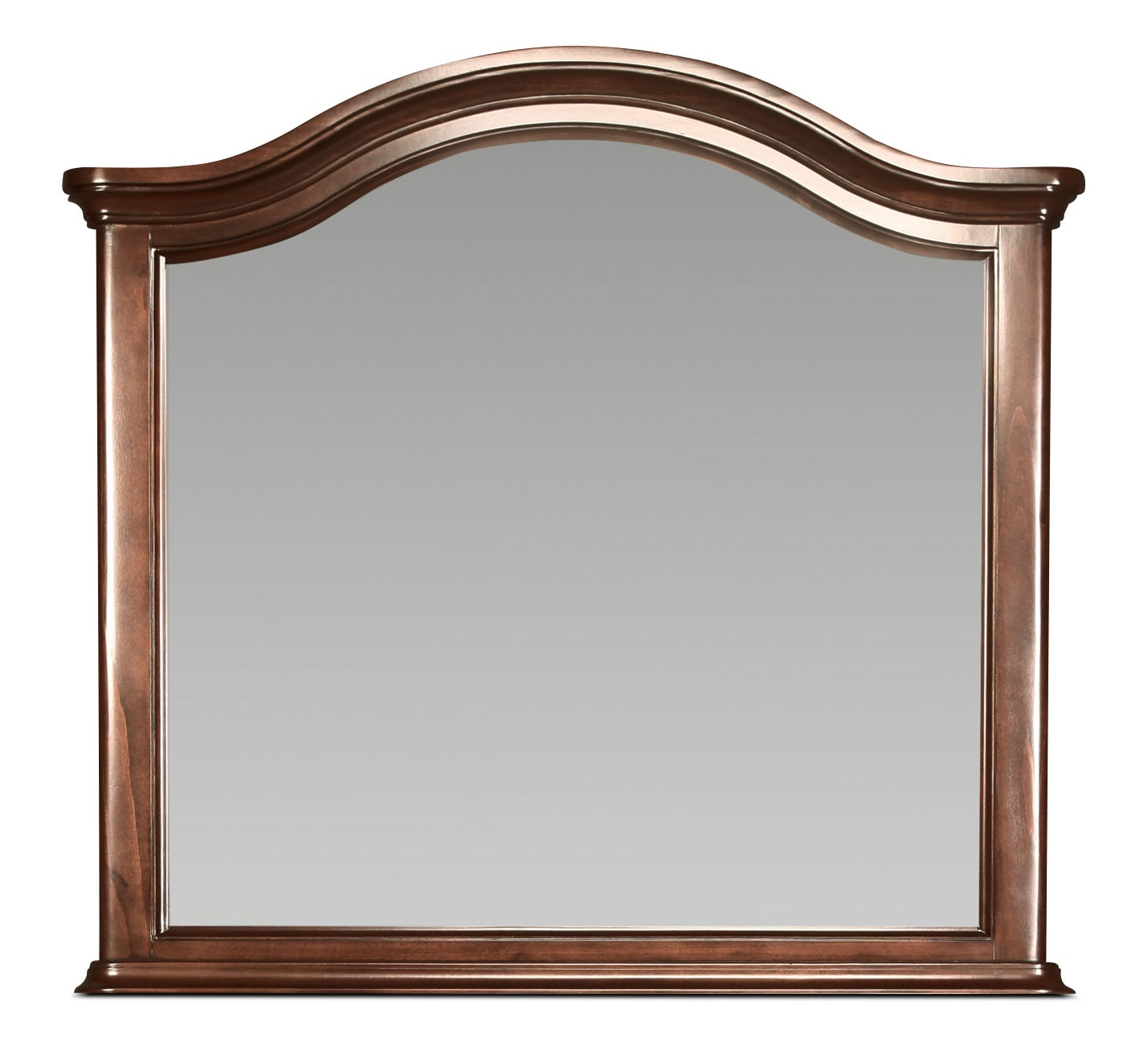 Stratton Mirror - Brown Cherry