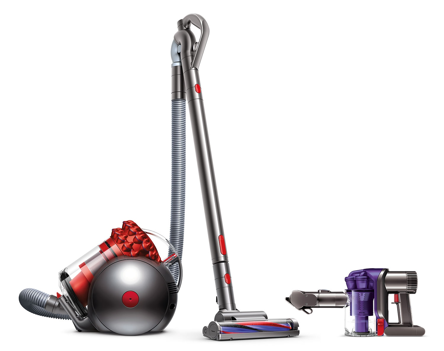 Clean-Up - Dyson Handheld Vacuum and Cinetic Big Ball Canister Vacuum