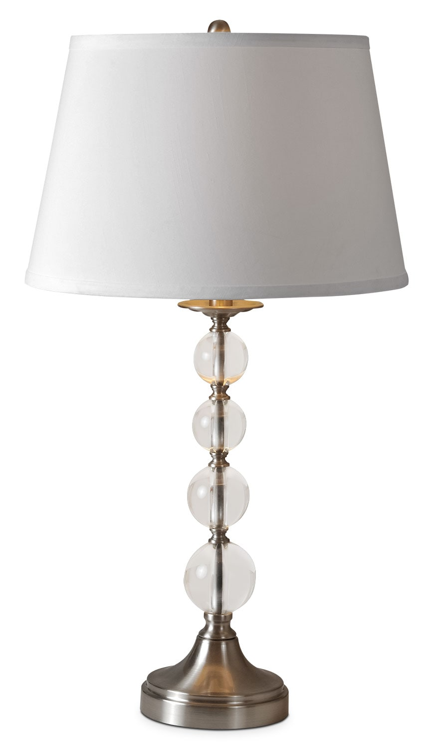 "Greta 28"" Table Lamp - Clear"
