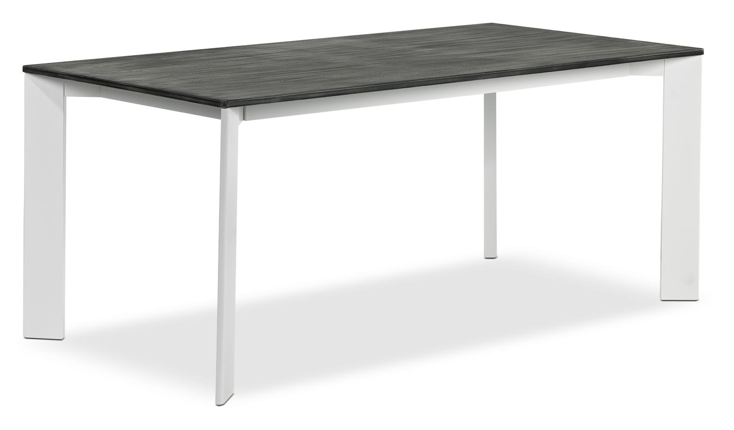 Christine Table - Grey and White