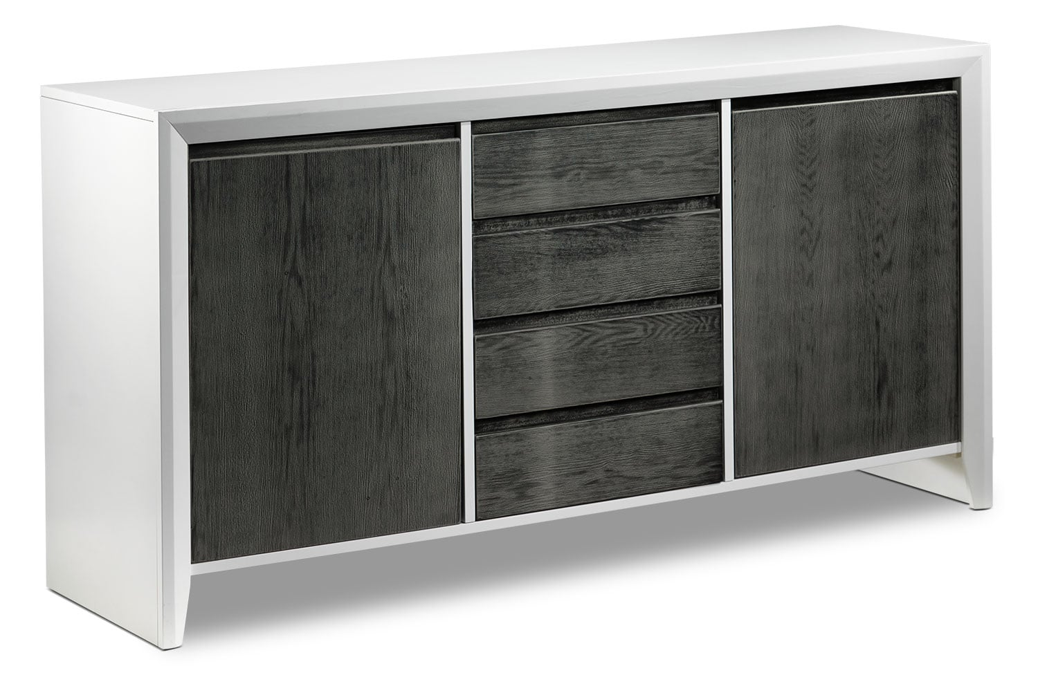 Dining Room Furniture - Christine Server - Grey and White