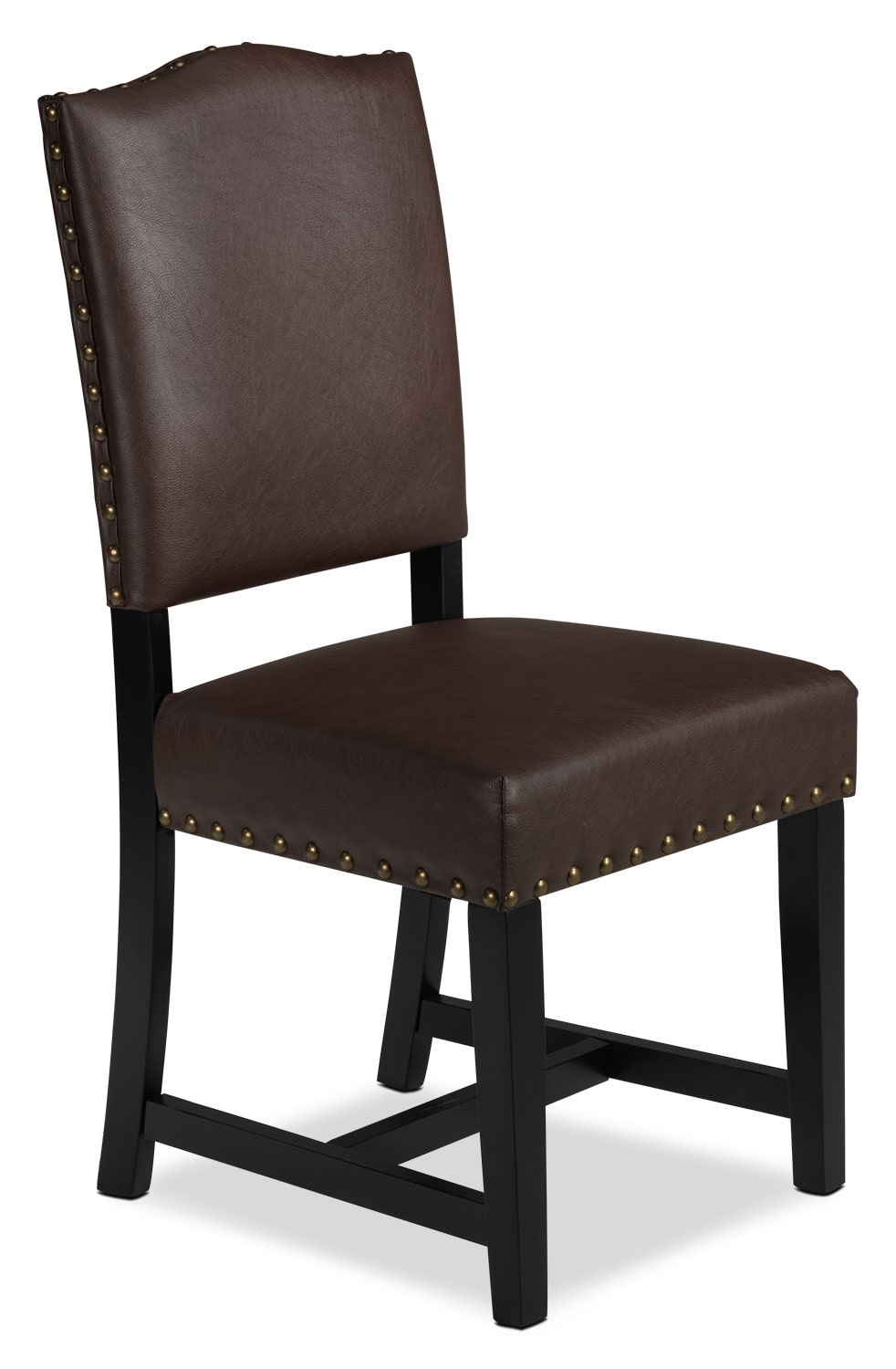 Casual Dining Room Furniture - Mabel Side Chair - Brown