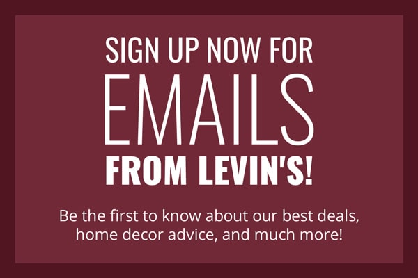 Sign up for emails from Levin