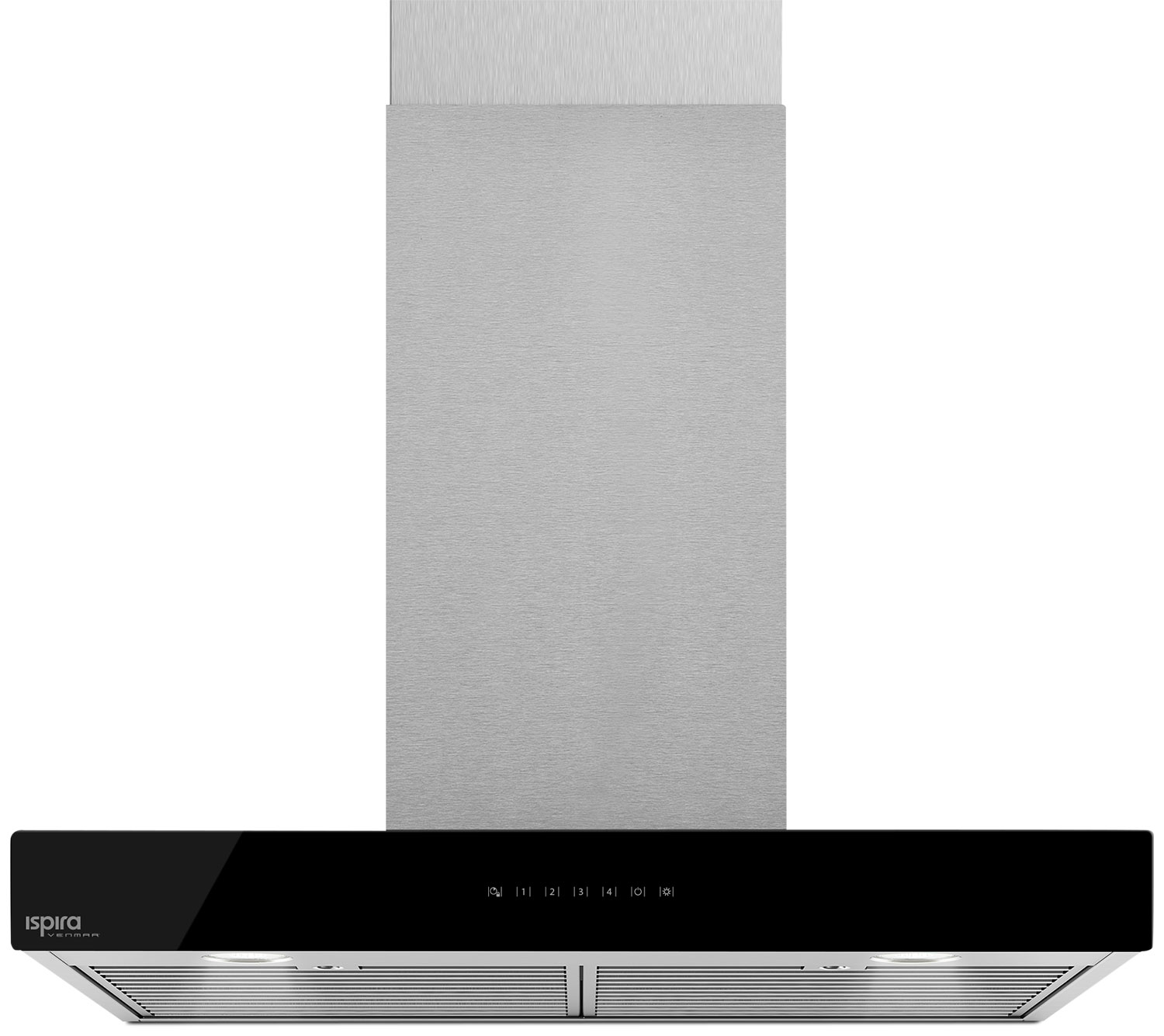 "Cooking Products - Venmar Ispira 30"" Chimney Range Hood – Black Panel IC700ES30BL"