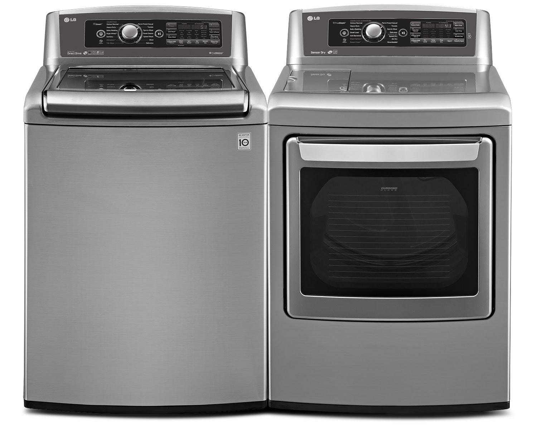 LG Appliances Laundry - WT5680HVA / DLEX5780VE