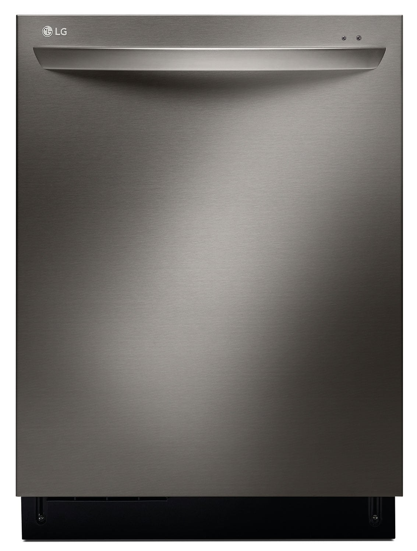 "Clean-Up - LG Appliances Black Stainless Steel 24"" Dishwasher - LDF7774BD"