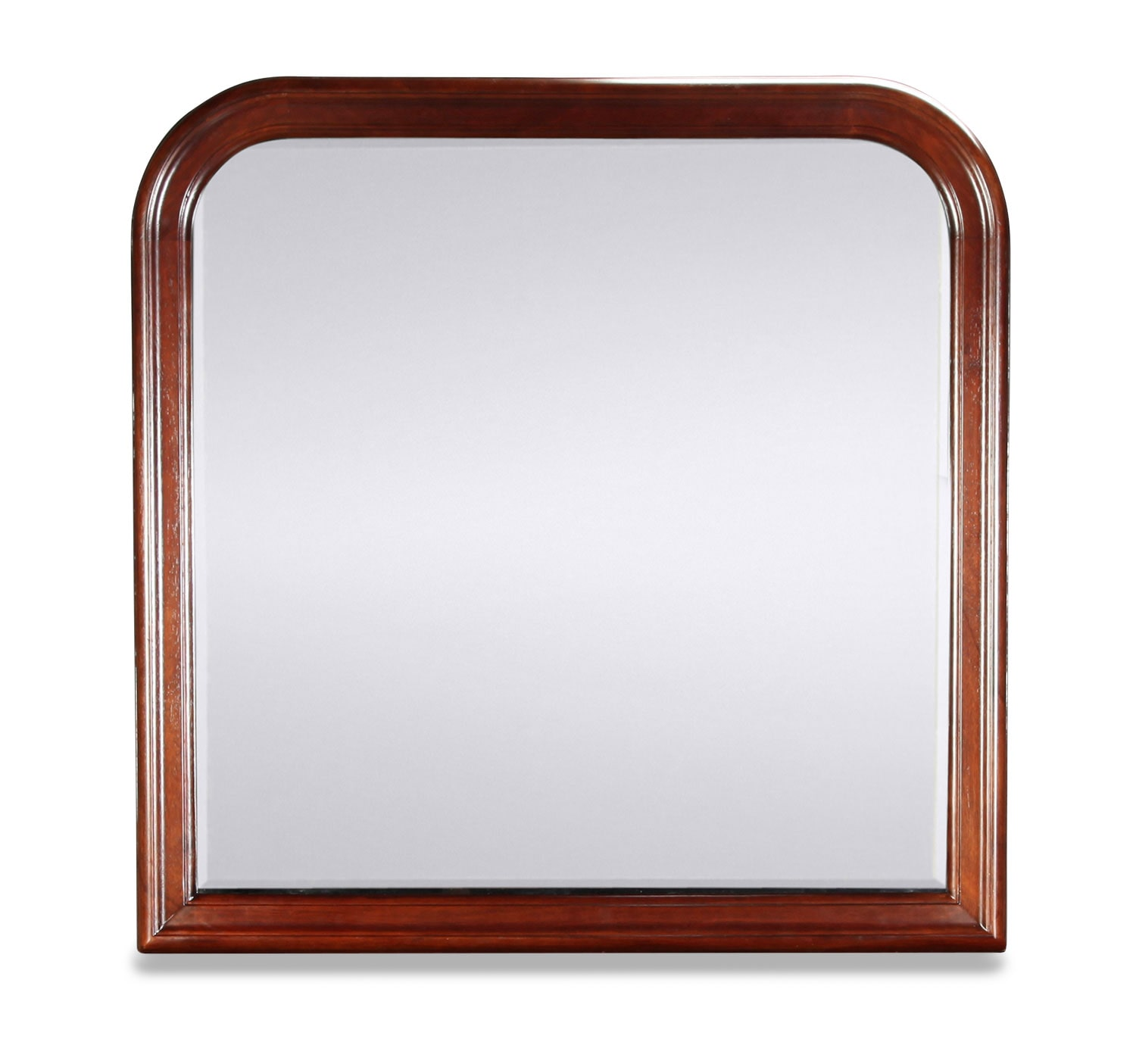 Claire Mirror - Brown Cherry