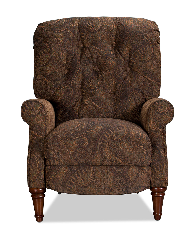 Living Room Furniture - Heritage Recliner - Paisley