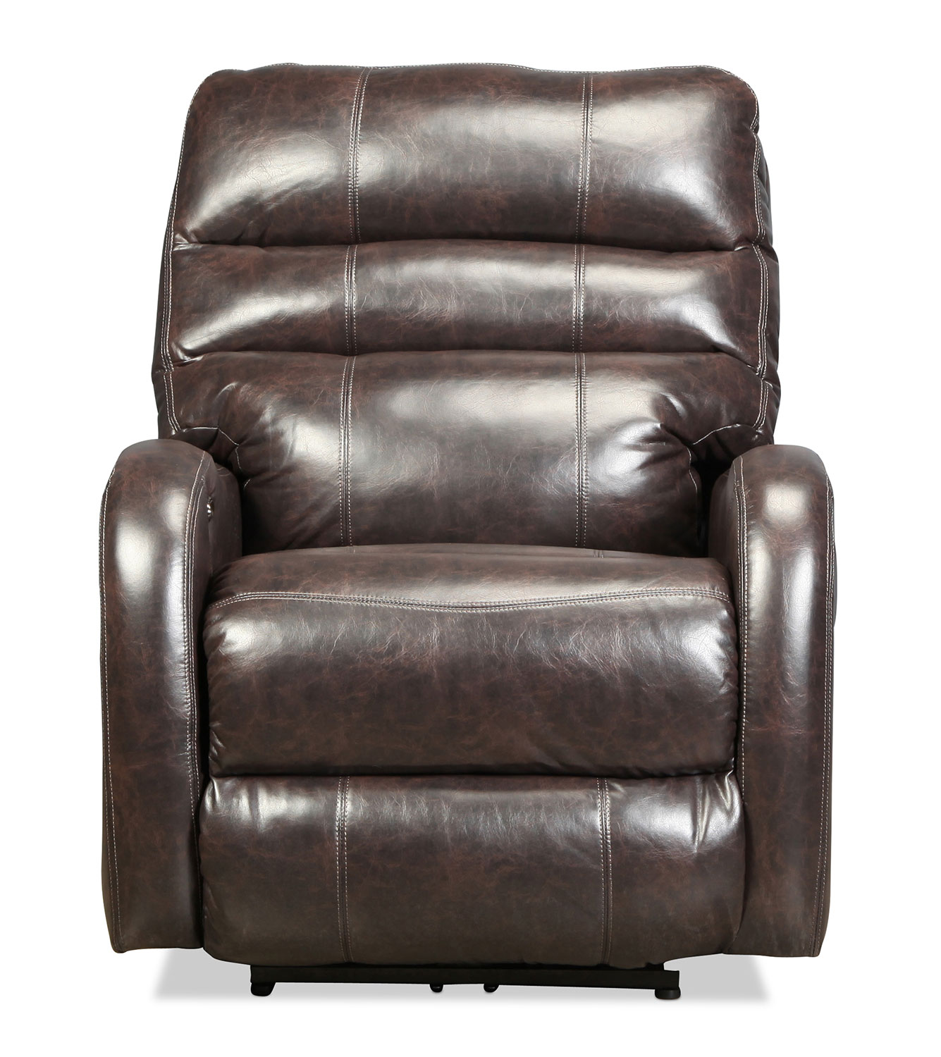 Living Room Furniture - Cannes Power Recliner - Coffee