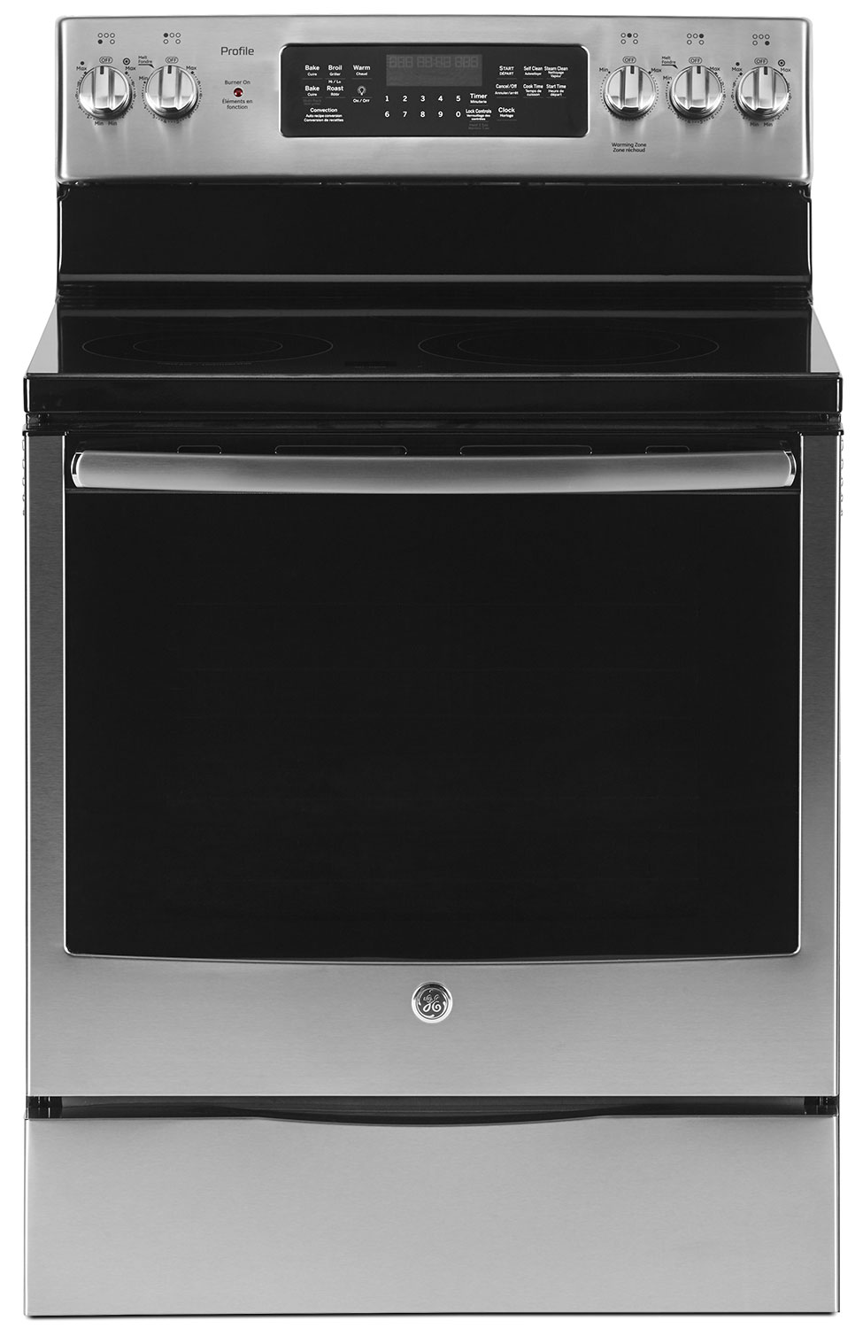 GE 6.2 Cu. Ft. Freestanding Electric Convection Range – PCB905SKSS