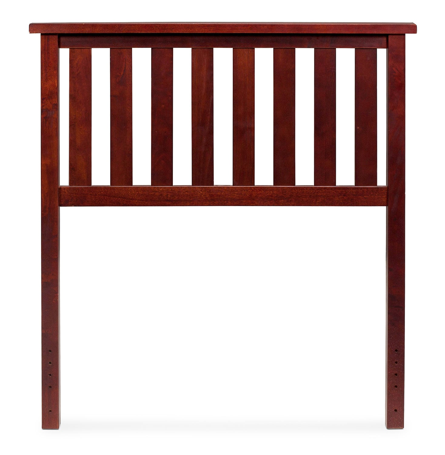 Kids Furniture - Belmont Twin Headboard - Merlot