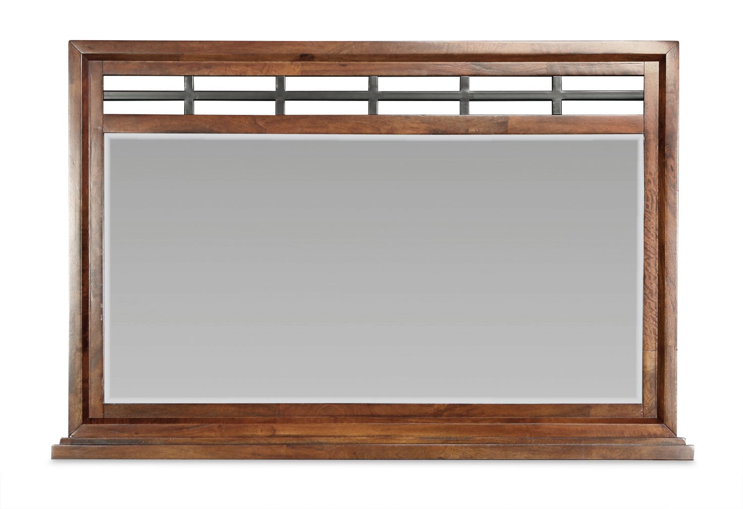 McKennon Mirror - Brown Cherry
