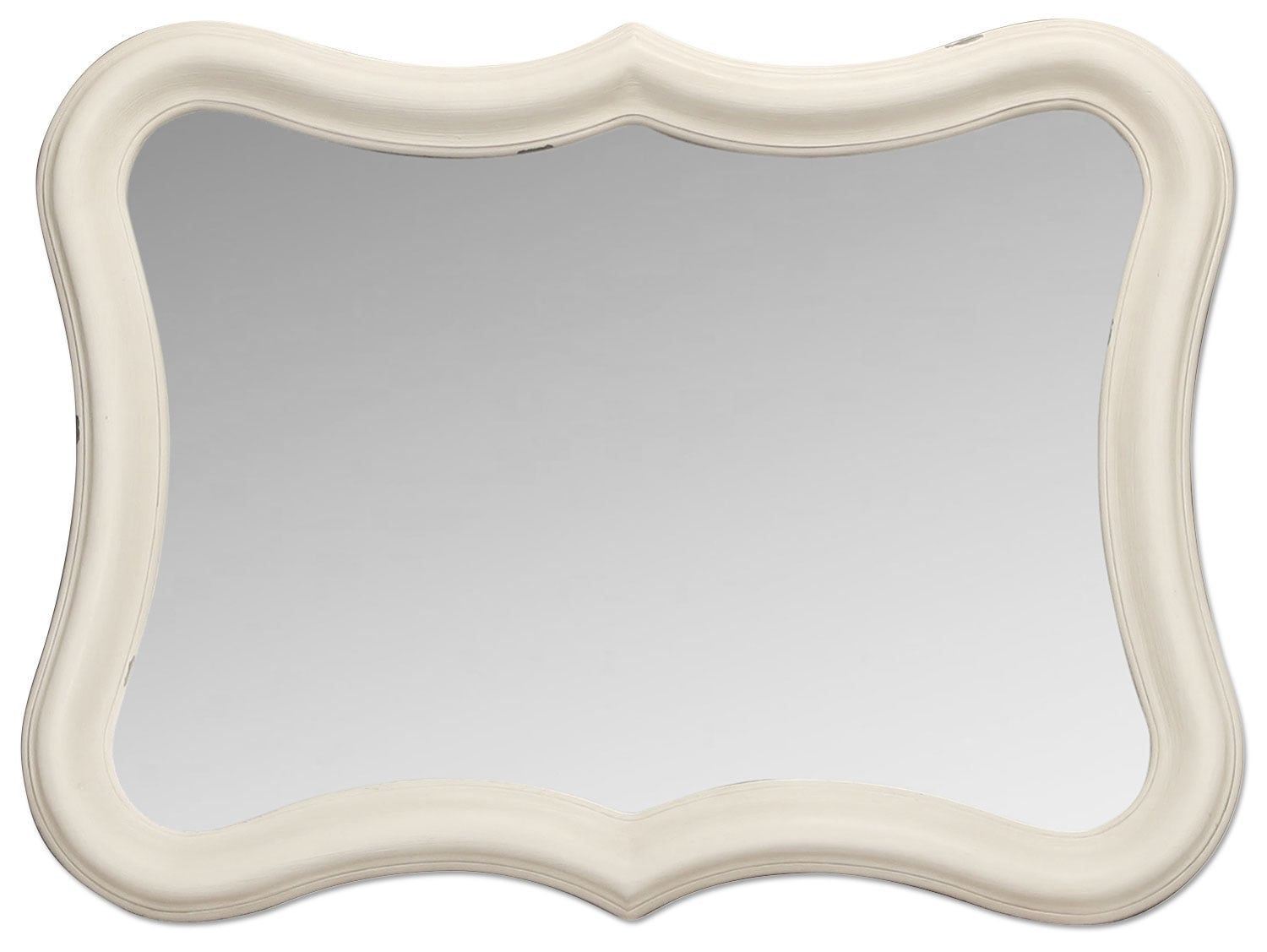 Accent and Occasional Furniture - Magnolia Home French Inspired Serpentine Mirror