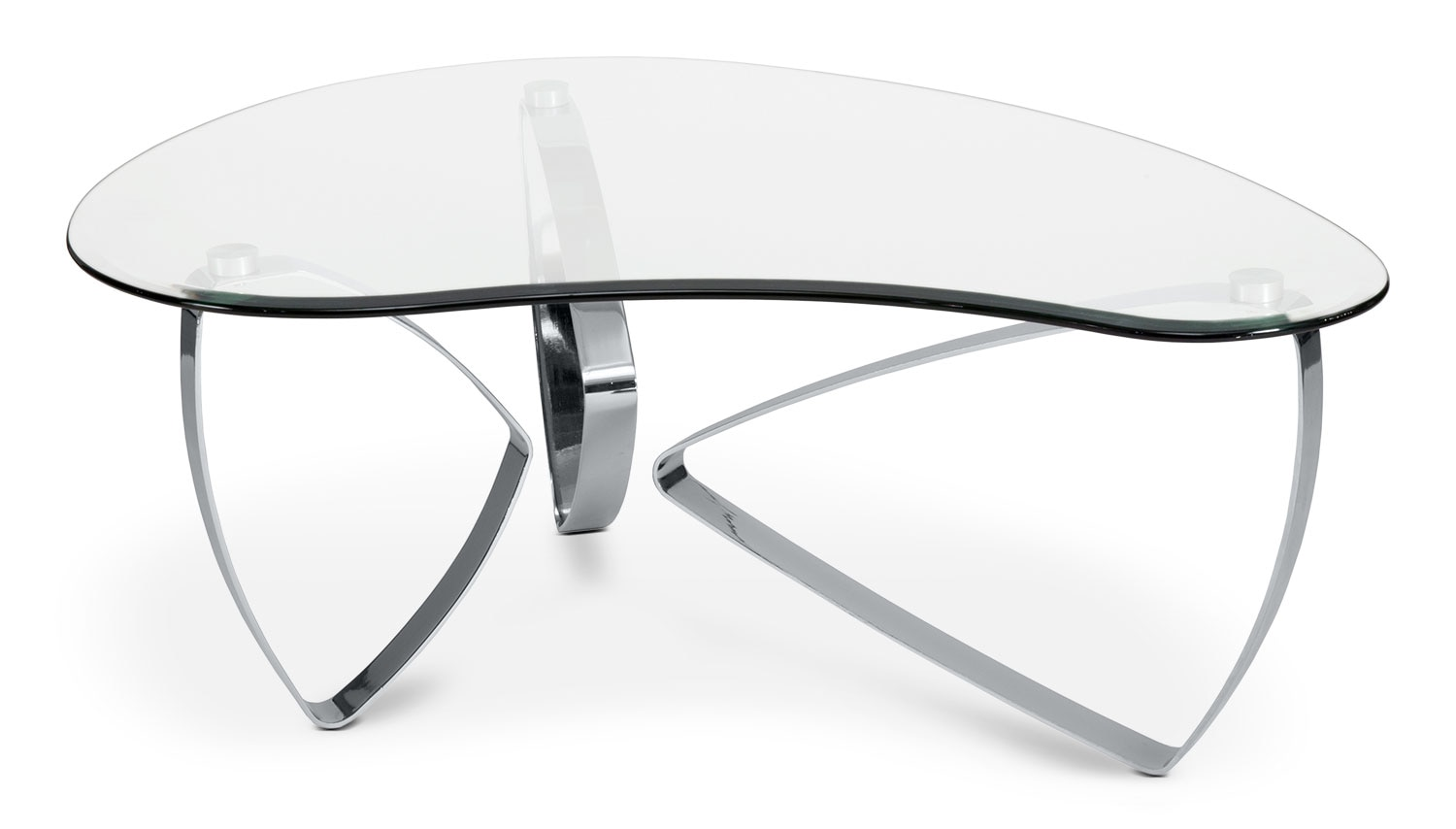 Accent and Occasional Furniture - Nico Coffee Table - Chrome