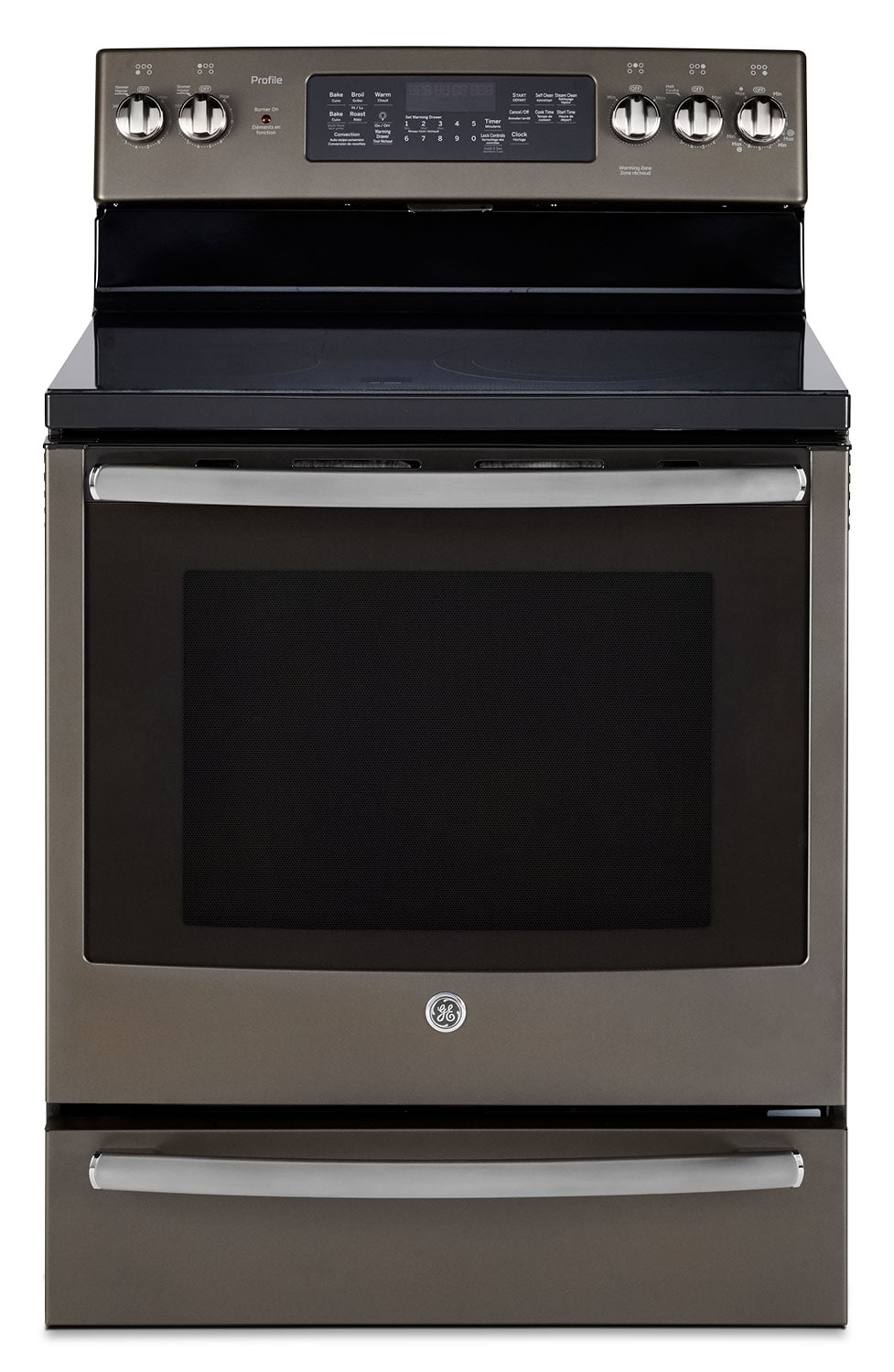 GE 6.2 Cu. Ft. Freestanding Electric Convection Range – PCB940EKES