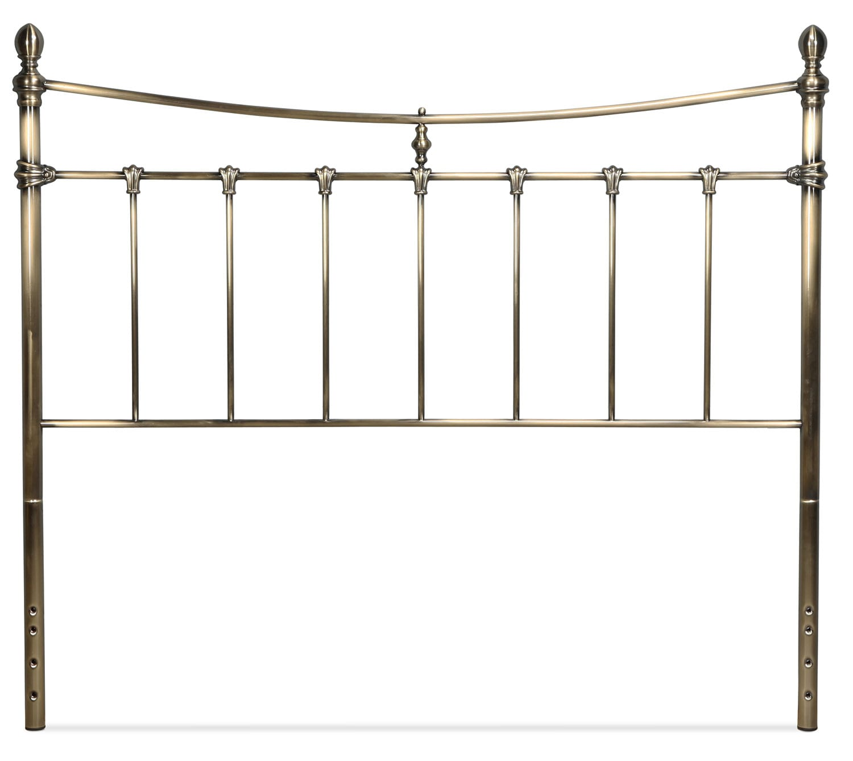 Leighton Queen Headboard - Antique Brass