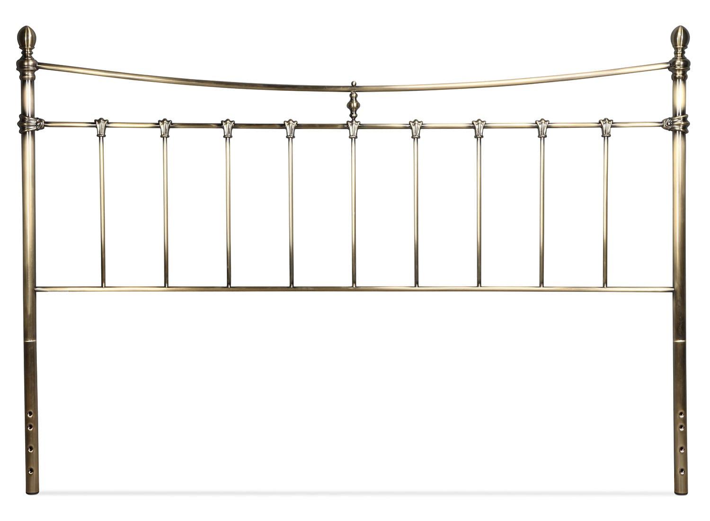 Leighton King Headboard - Antique Brass