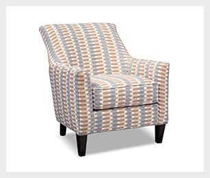 Rachel Texture Accent Chair - Gray