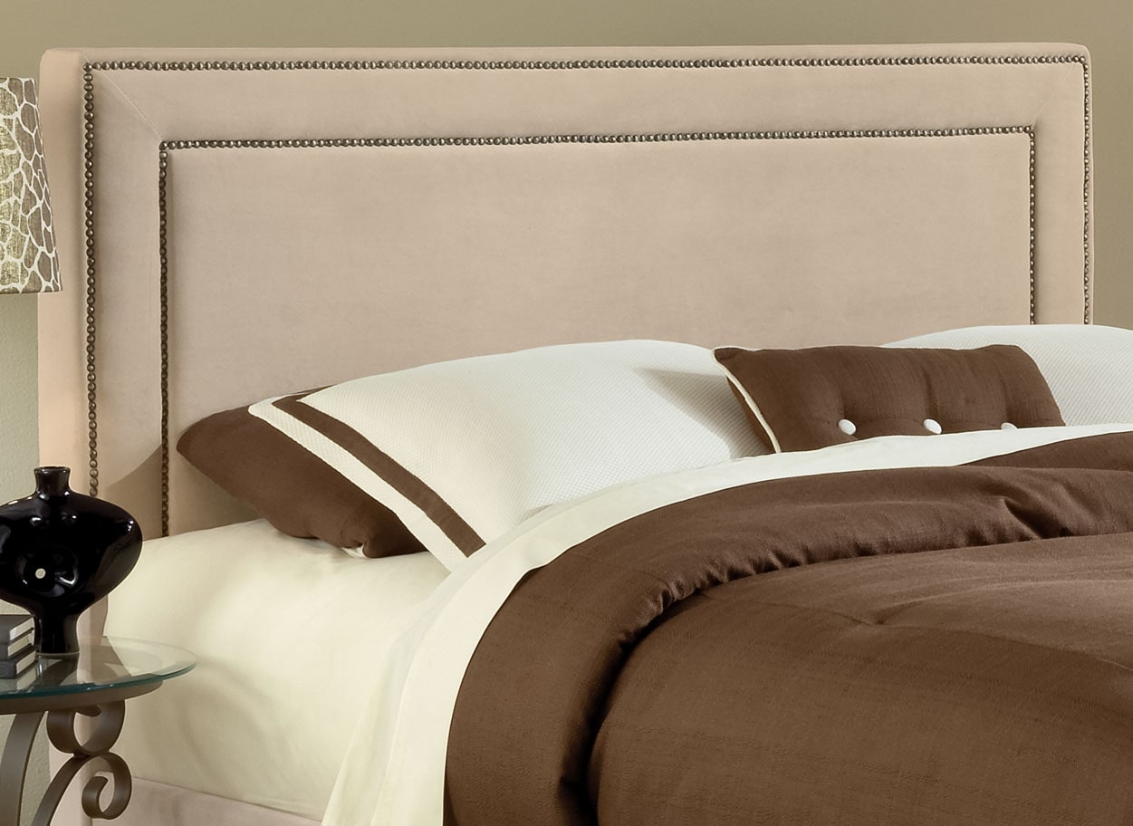 Bedroom Furniture - Amber Queen Headboard – Beige