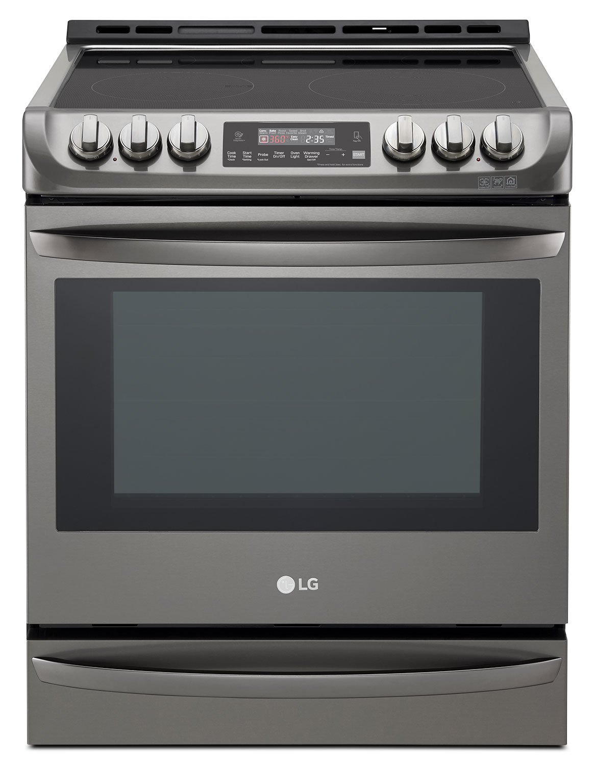 Cooking Products - LG 6.3 Cu. Ft. Slide-In Electric Range – LSE5613BD