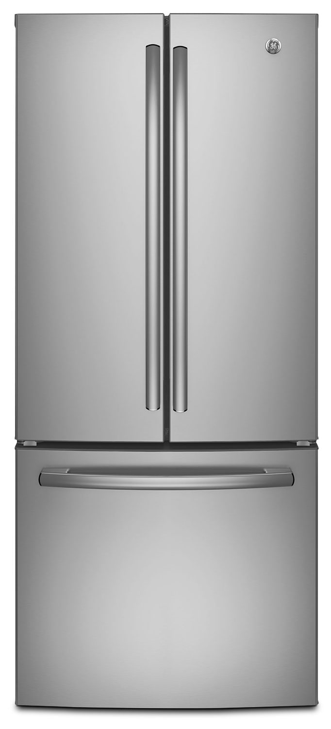 Refrigerators and Freezers - GE 20.8 Cu. Ft. French-Door Refrigerator – GNE21DSKSS