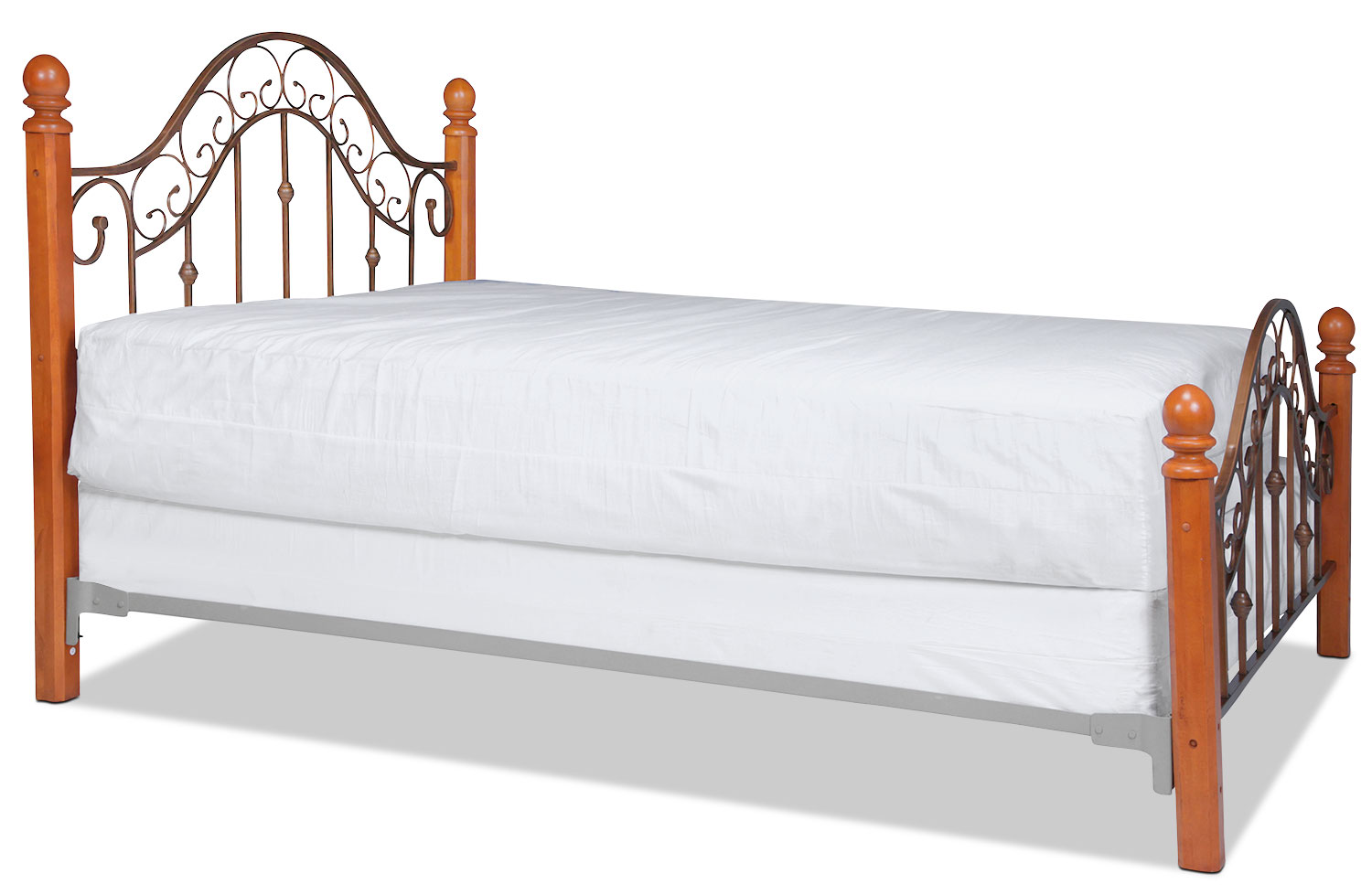 San Marco King Bed - Brown Copper