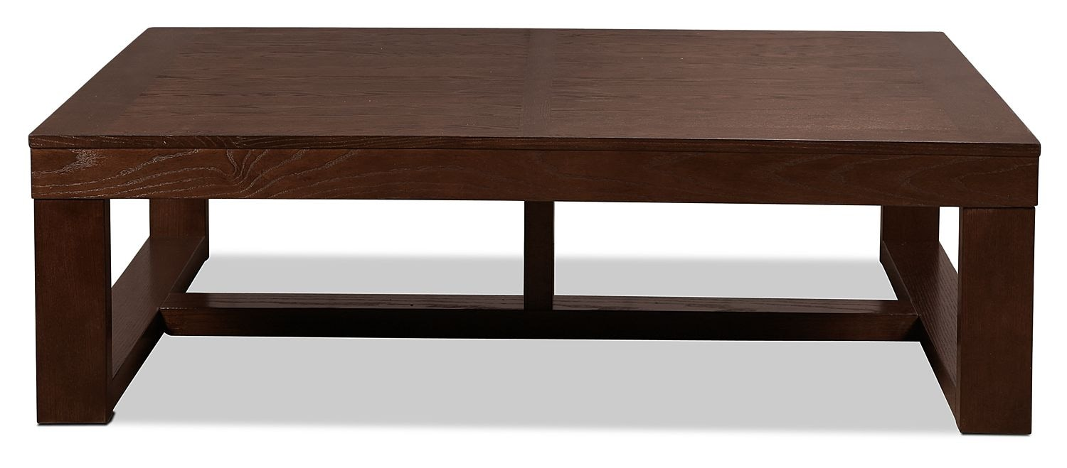 Accent and Occasional Furniture - Monterey Coffee Table - Dark Brown