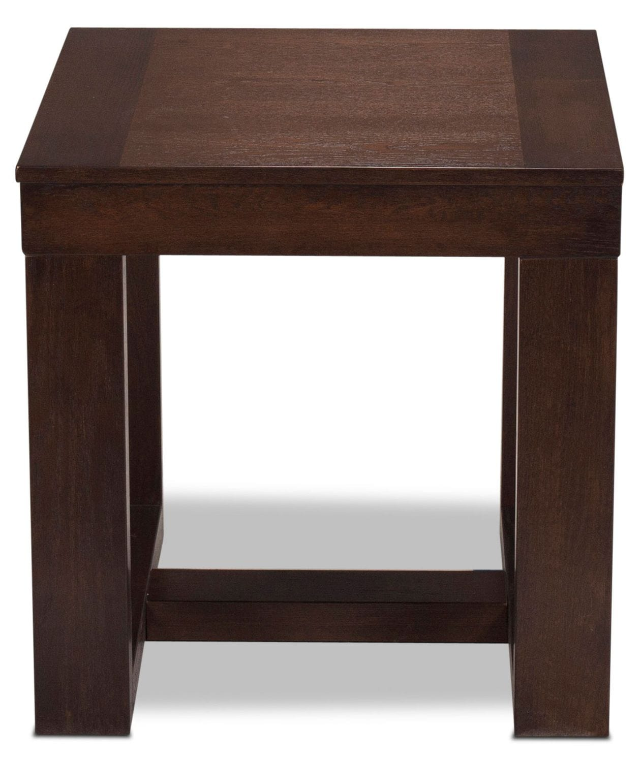 Accent and Occasional Furniture - Monterey End Table - Dark Brown