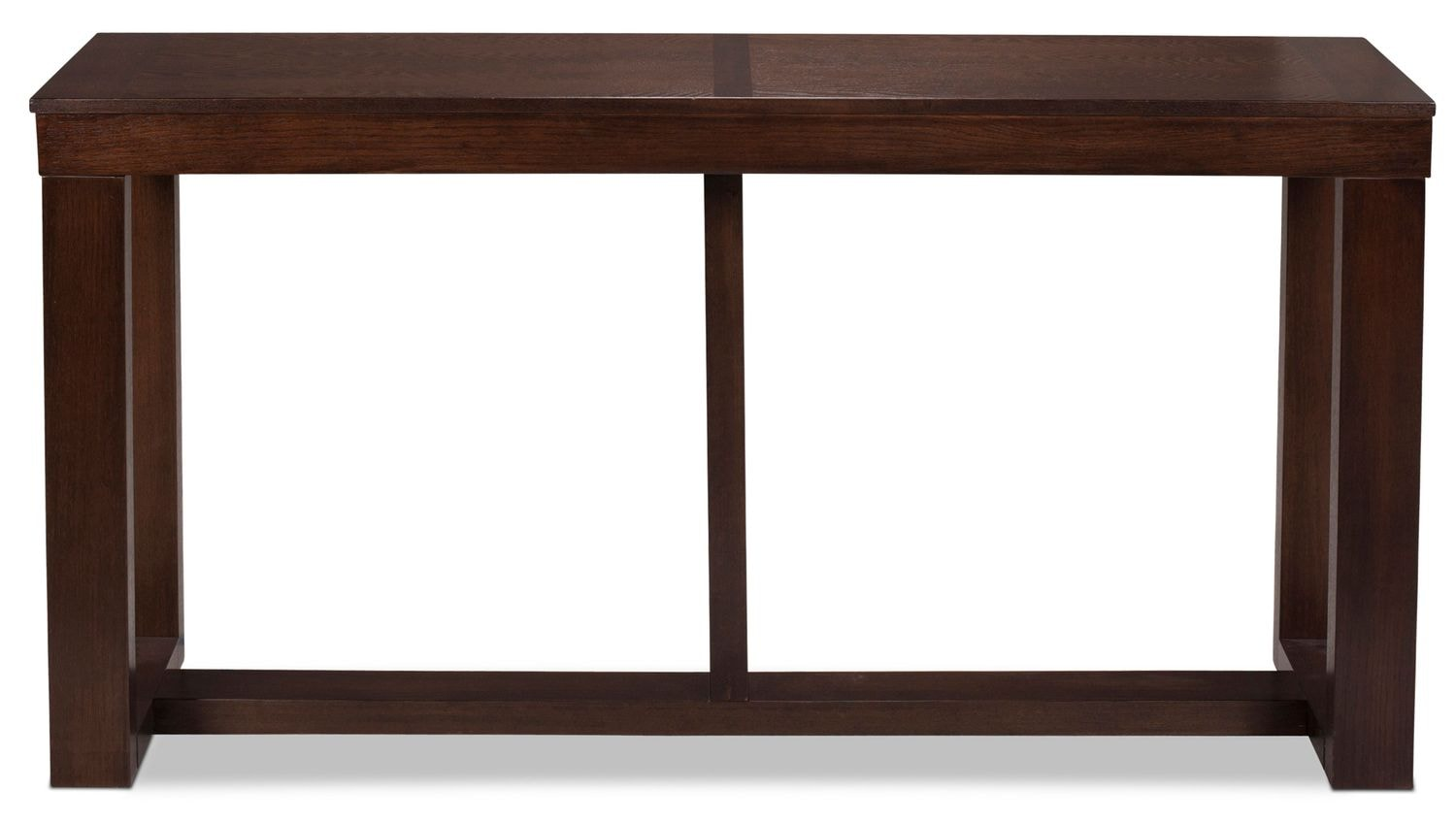 Accent and Occasional Furniture - Monterey Sofa Table - Dark Brown