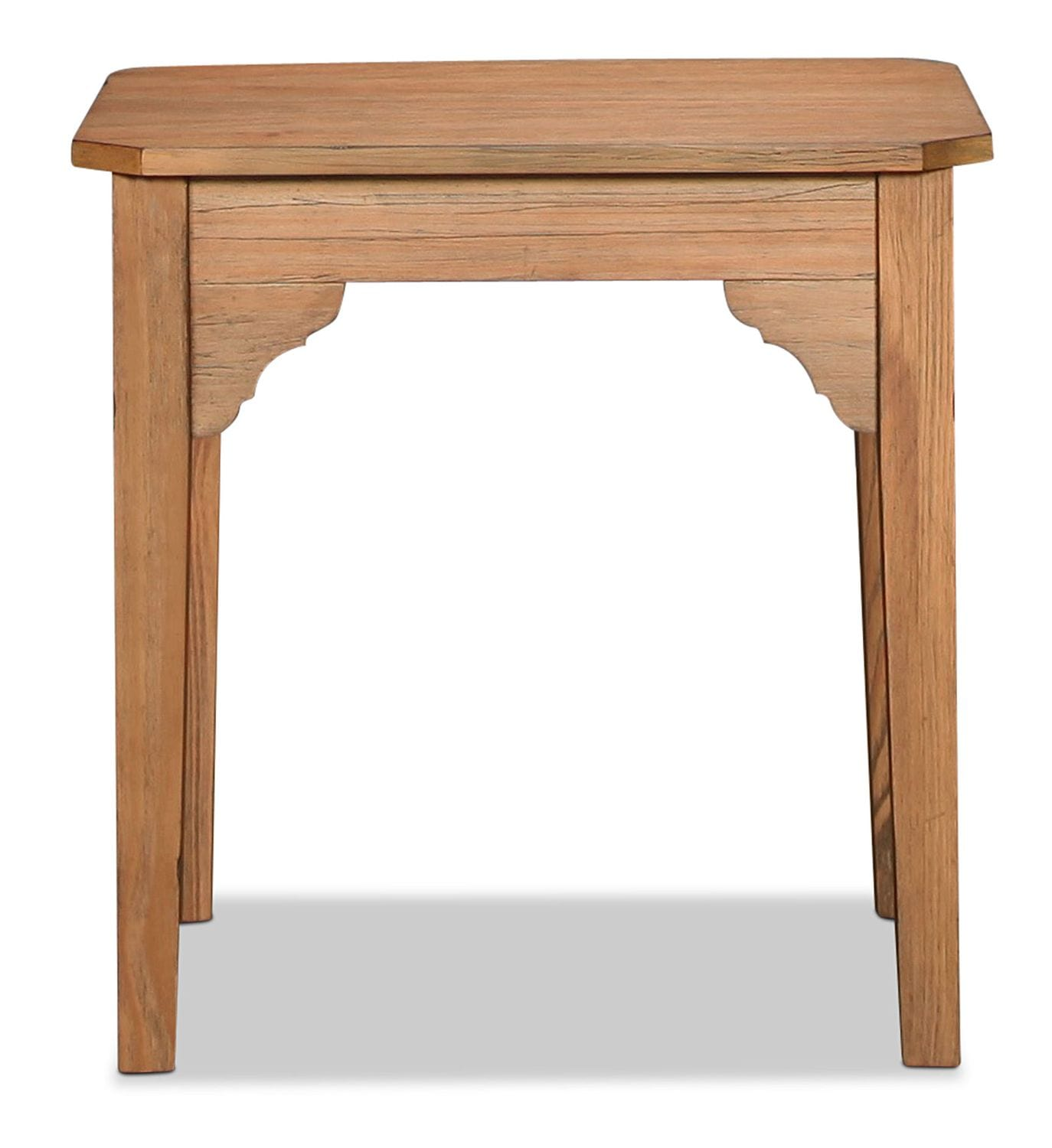 Accent and Occasional Furniture - Magnolia Home Farmhouse Bracket End Table