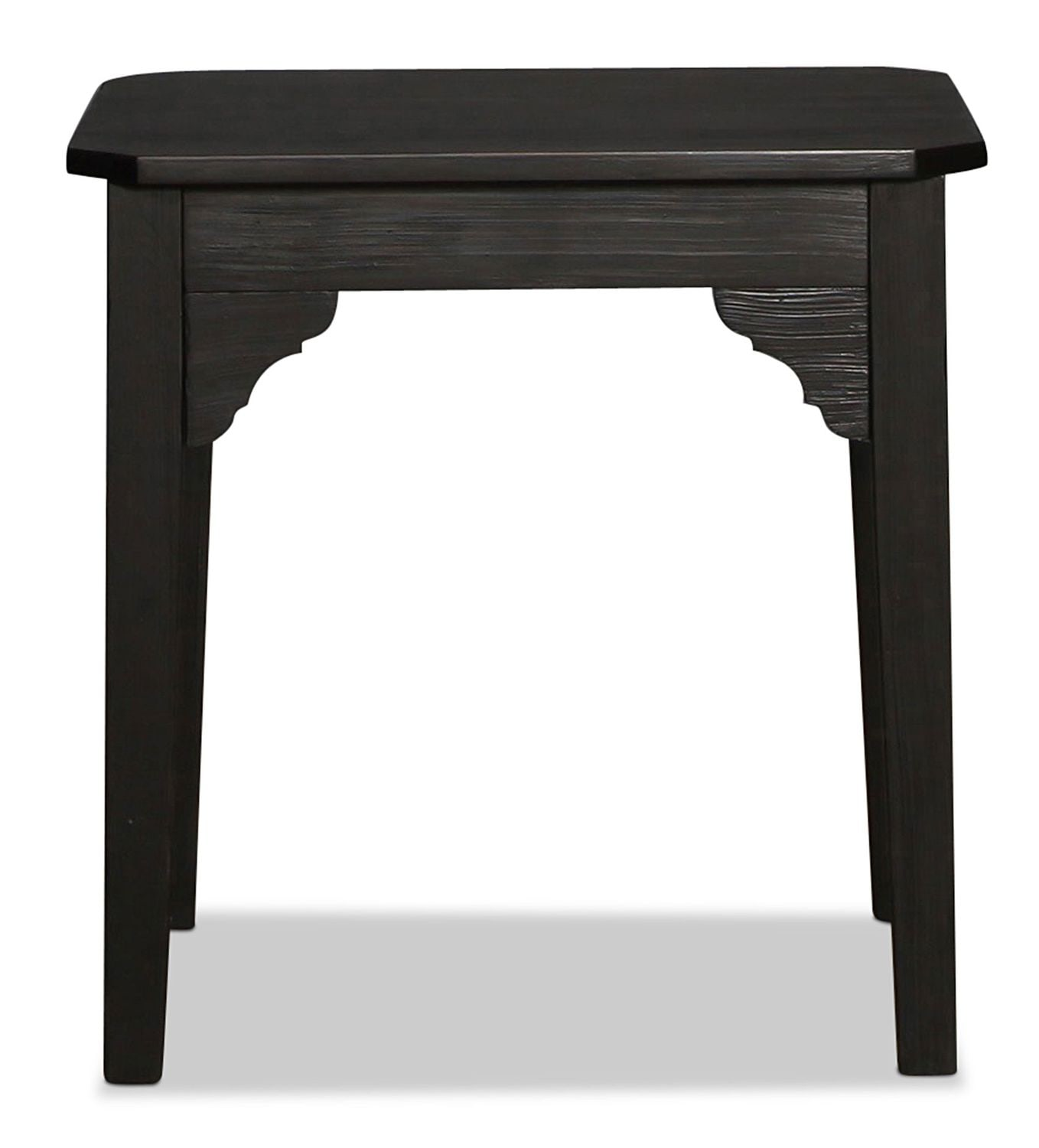 Magnolia Home Farmhouse Bracket End Table