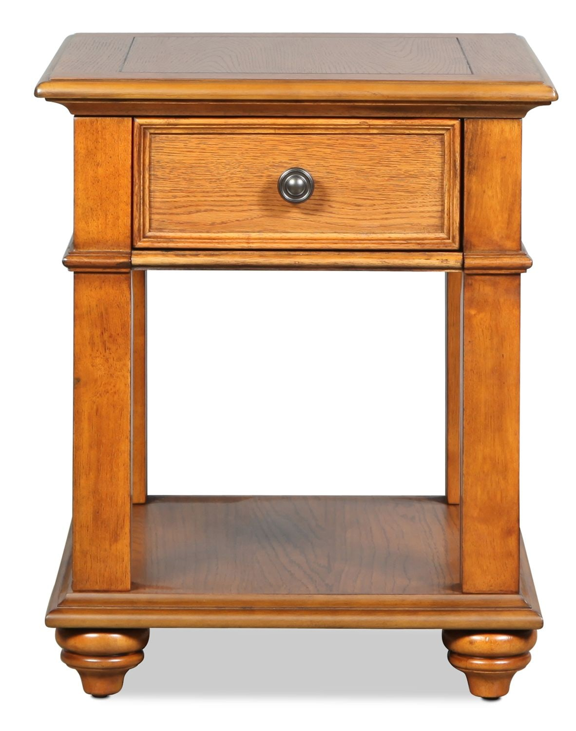 Accent and Occasional Furniture - Oxford End Table - Oak