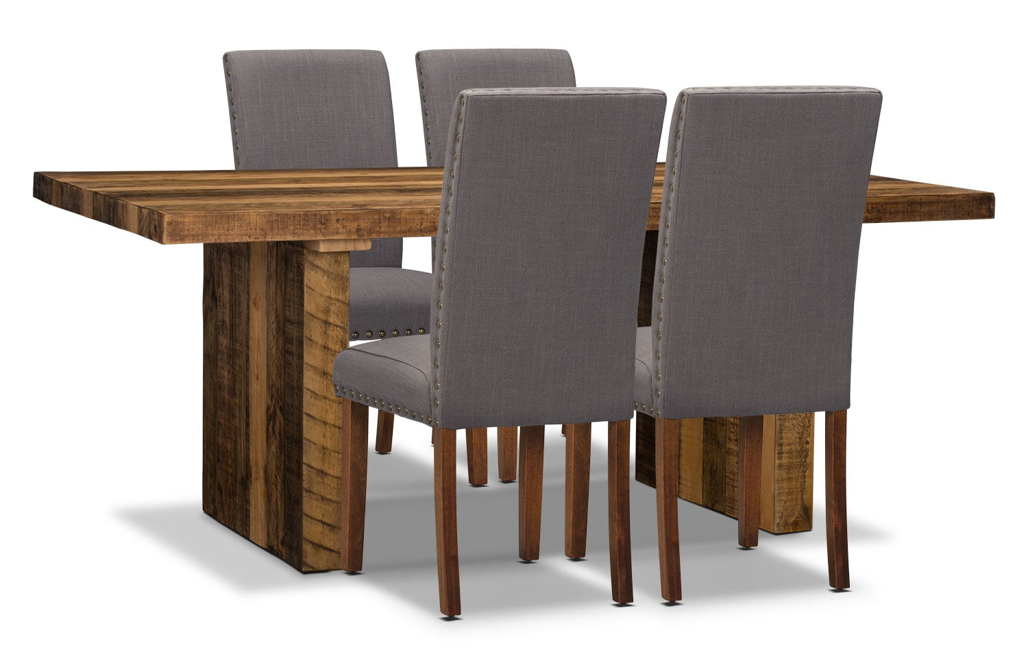 Colby 5-Piece Dining Package with Mindy Chairs