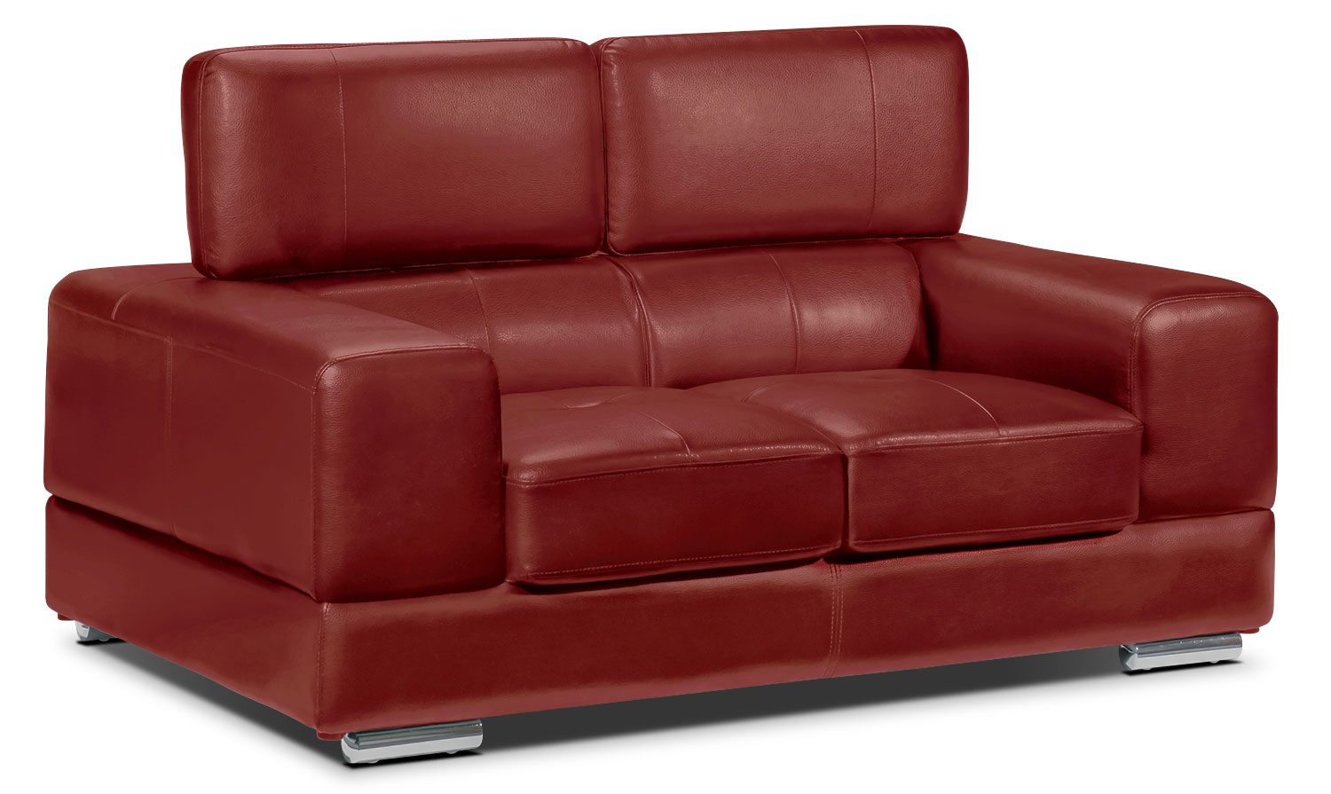 Living Room Furniture - Driscoll Loveseat - Red