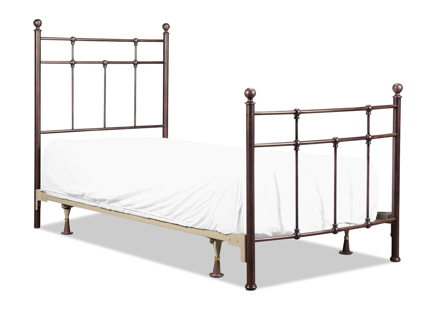 Providence Twin Bed - Antique Bronze