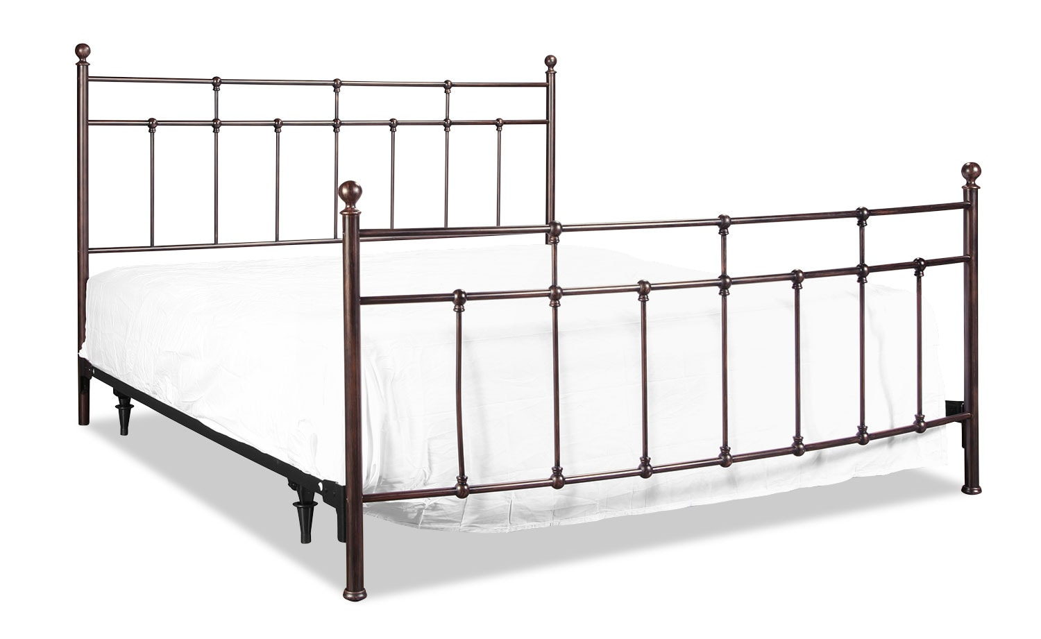 Providence King Bed - Antique Bronze