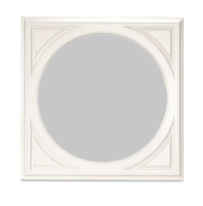 Hancock Park Mirror - Vintage White