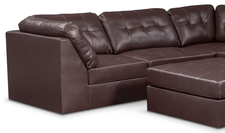 Cayenne 6 Piece Sectional Godiva Value City Furniture