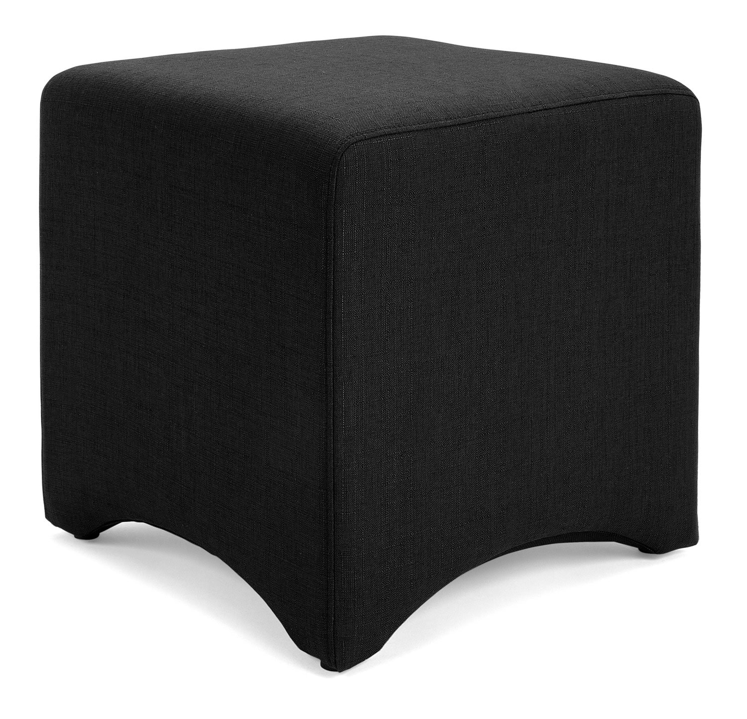 Accent and Occasional Furniture - Kaiba Ottoman – Black