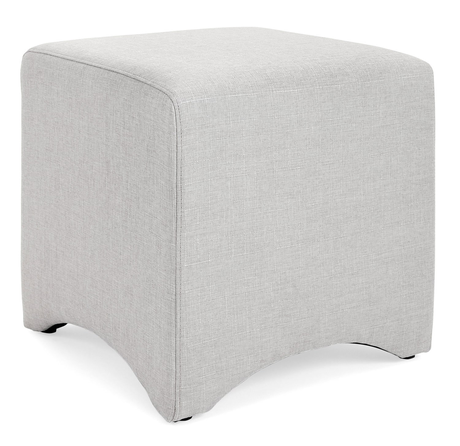 Accent and Occasional Furniture - Kaiba Ottoman – Cream