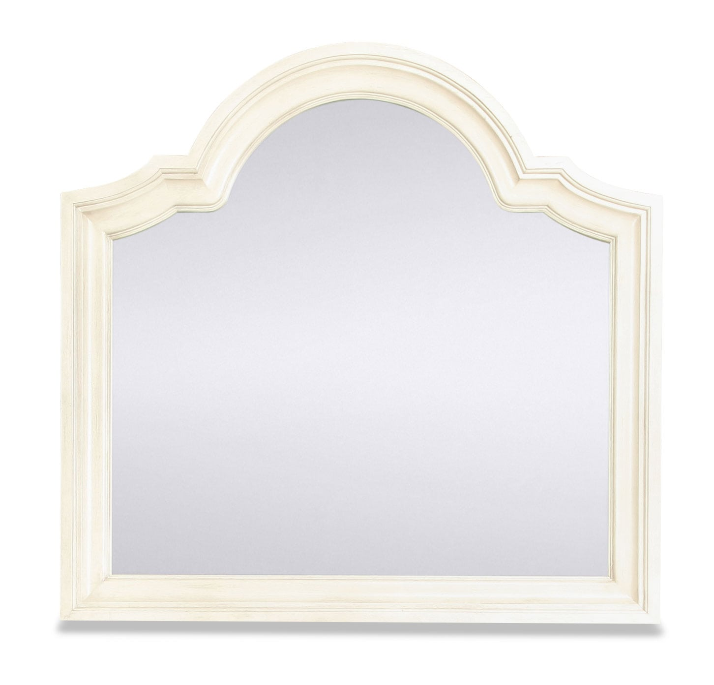 Windsor Lane Mirror - White