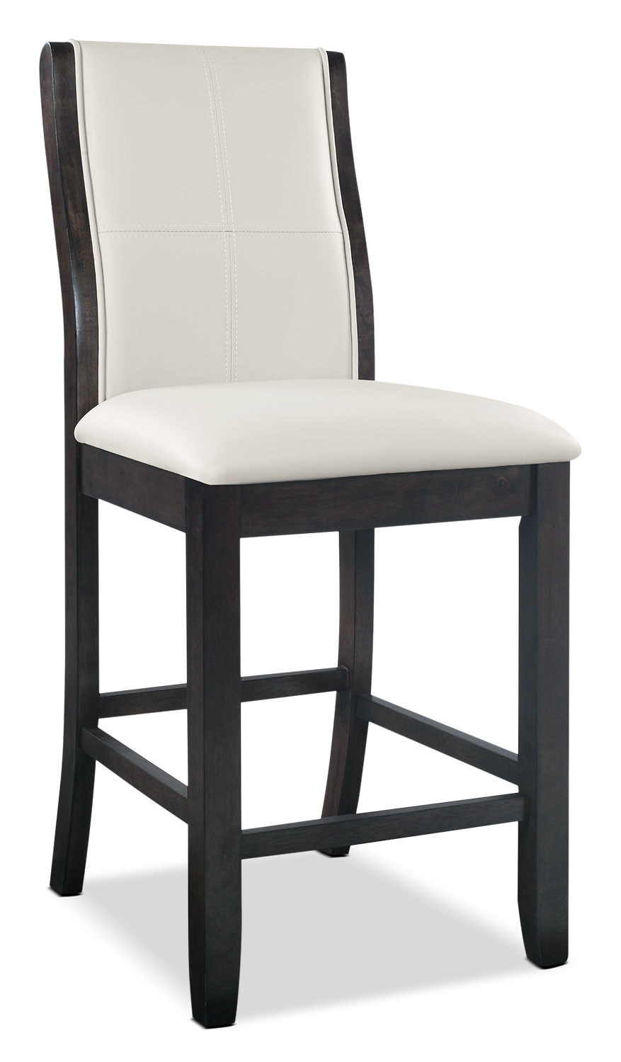 tyler counter height dining chair taupe the brick