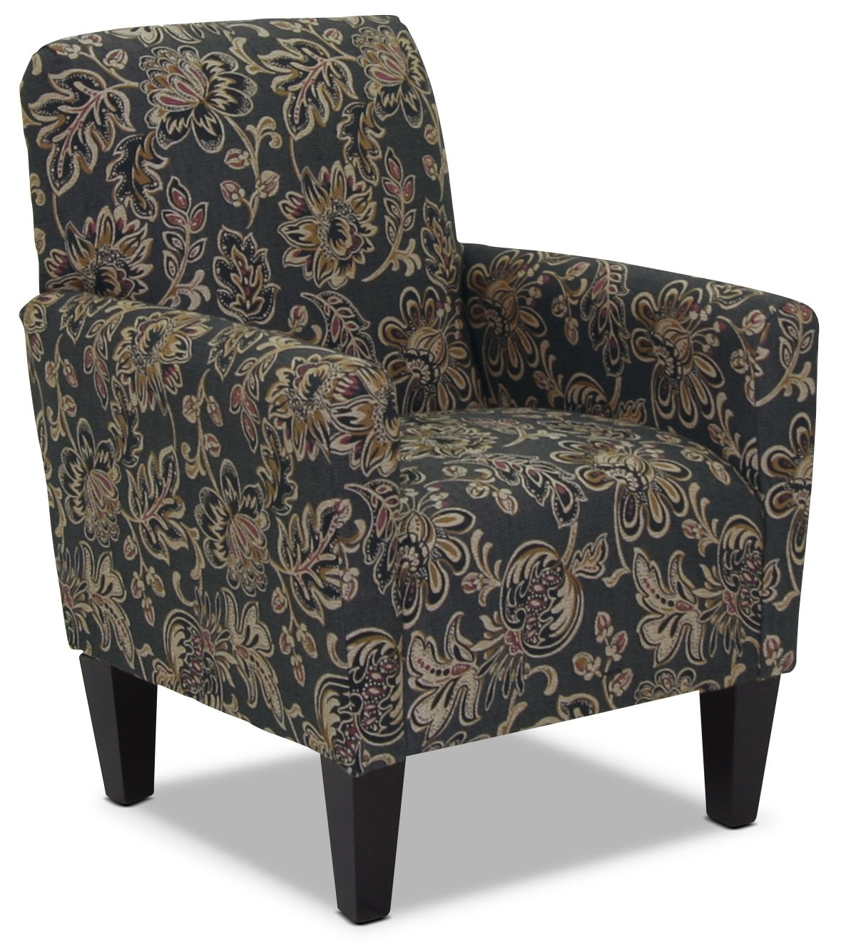 Living Room Furniture - Designed2B Fabric Accent Club Chair – Twilight