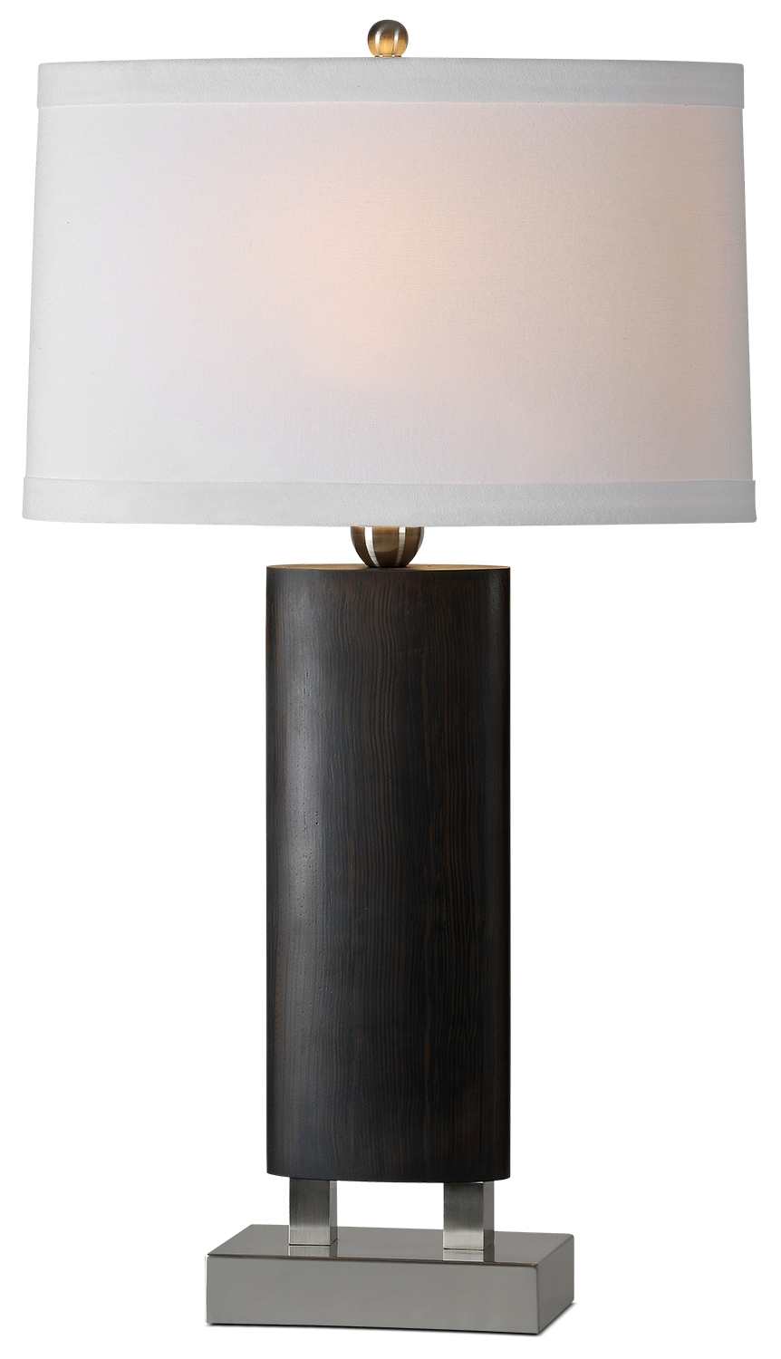 "Lincoln 29.5"" Table Lamp - Walnut"