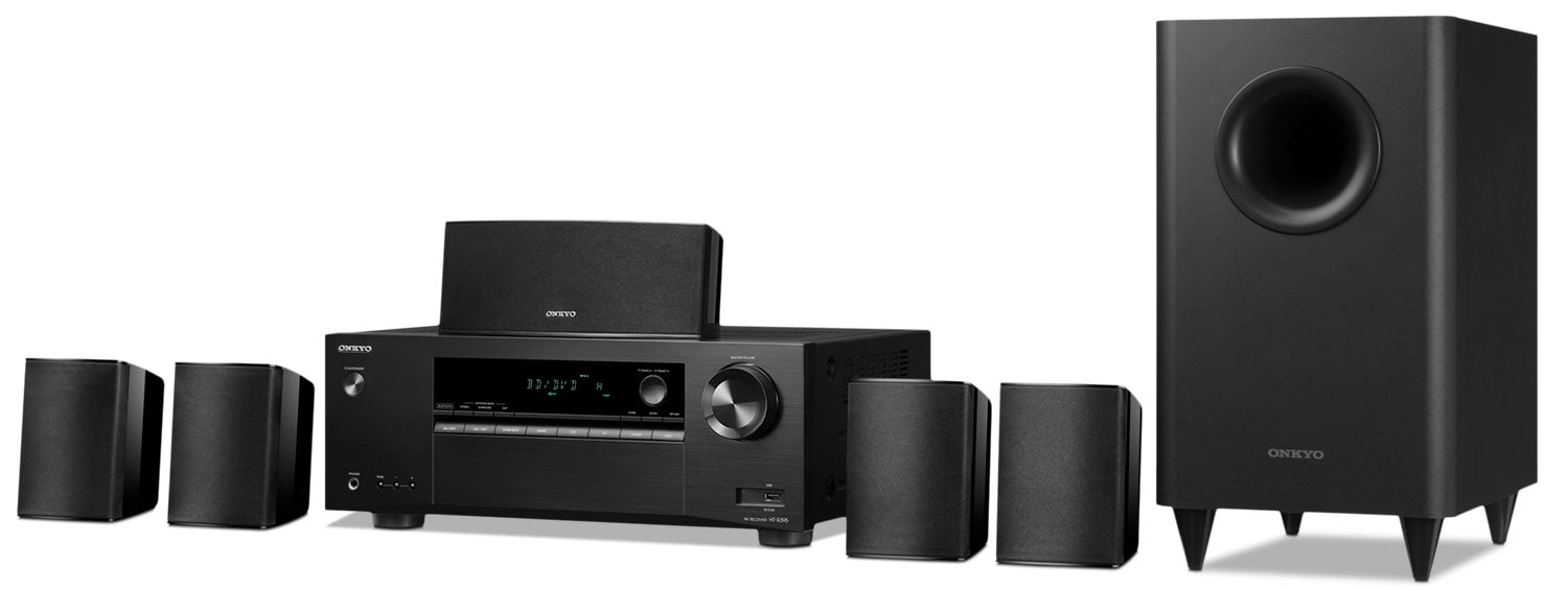 Sound Systems - Onkyo 5.1-Channel Home Theatre System - HT-S3800