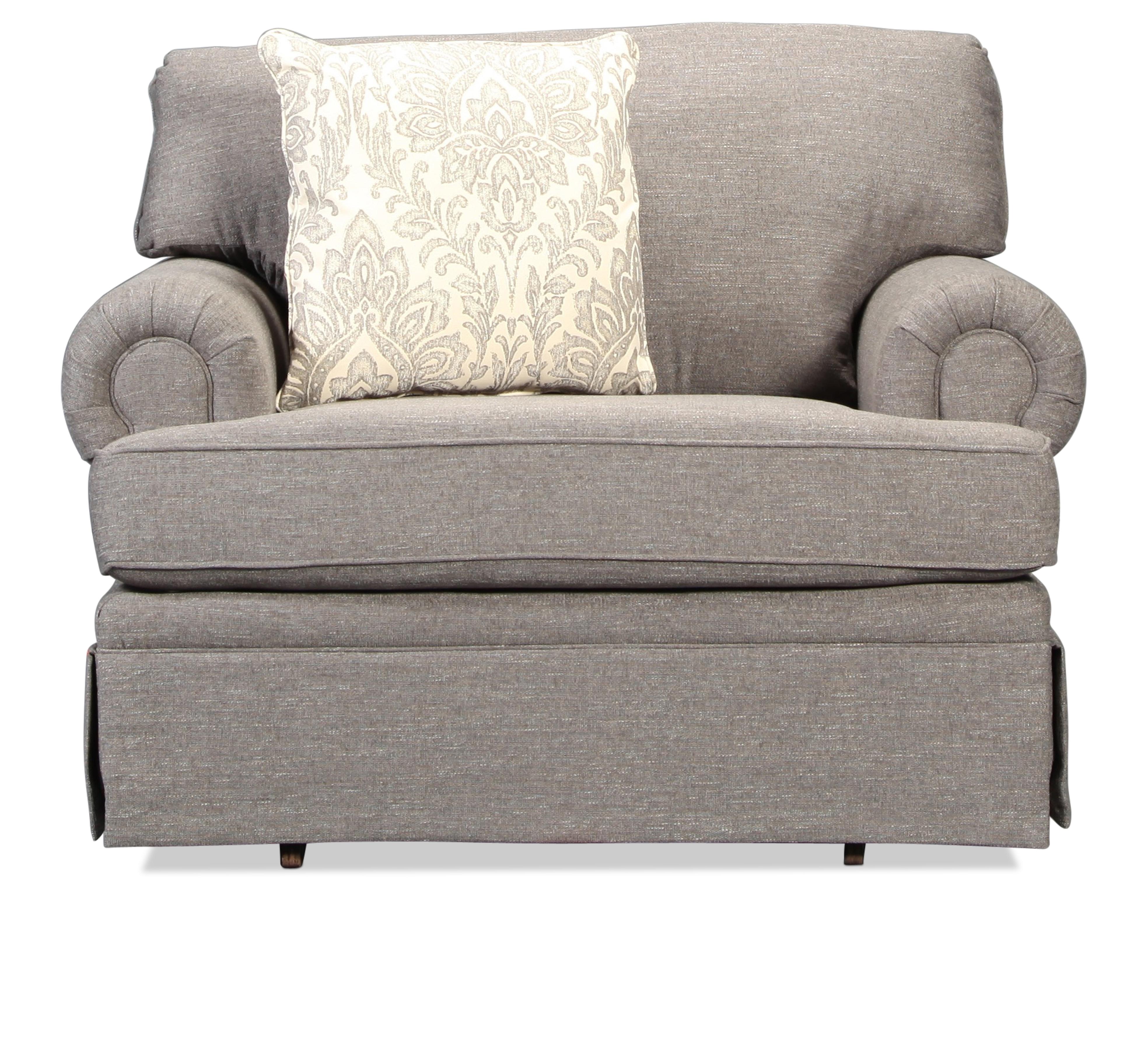 Hawthorne Glider Chair- Pewter