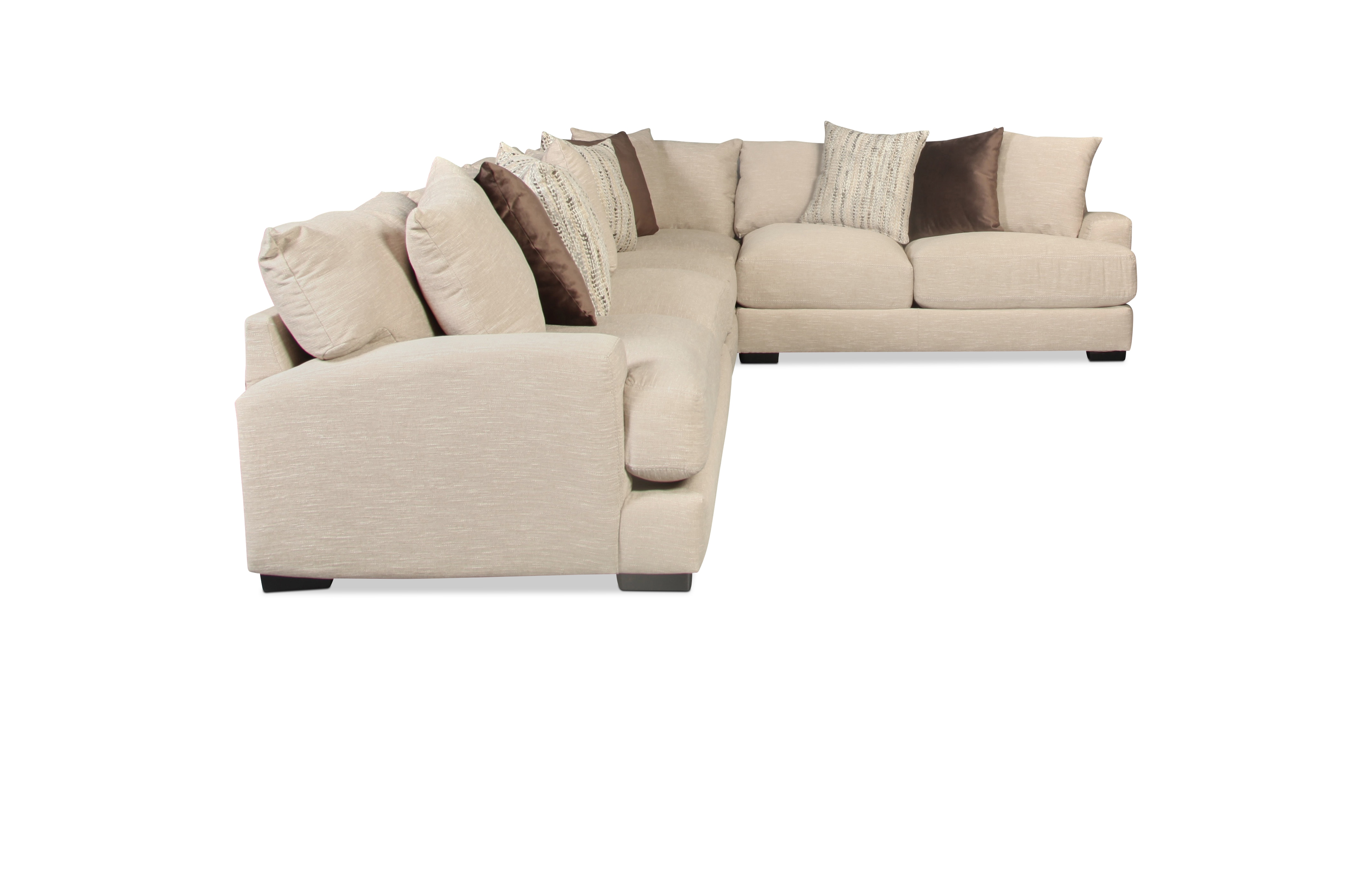 Caiden 4 piece sectional dusk levin furniture for Levin furniture sectional sofa